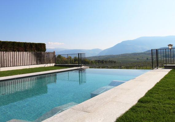 Infinity Pool Lake Caldaro